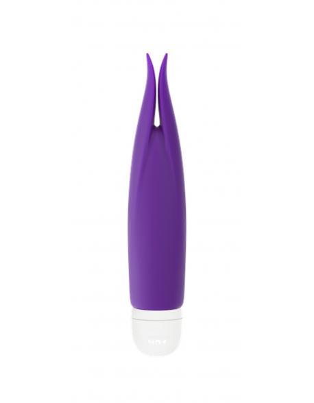 Anální kolík Bunny Tail Plug No. 1 - Silver/White